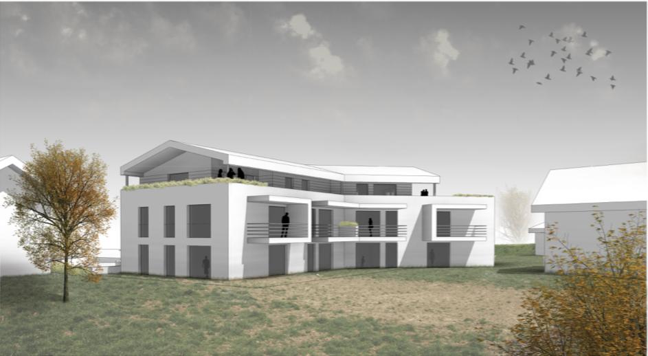 Wohnbebauung Ostermiething  — nur noch 2 Wohnungen noch verfügbar!