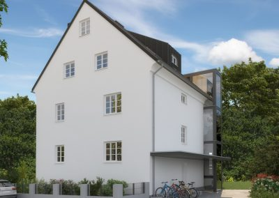 Reserviert: Bergheimerstraße -3 moderne Wohnungen im Flair der 1930er
