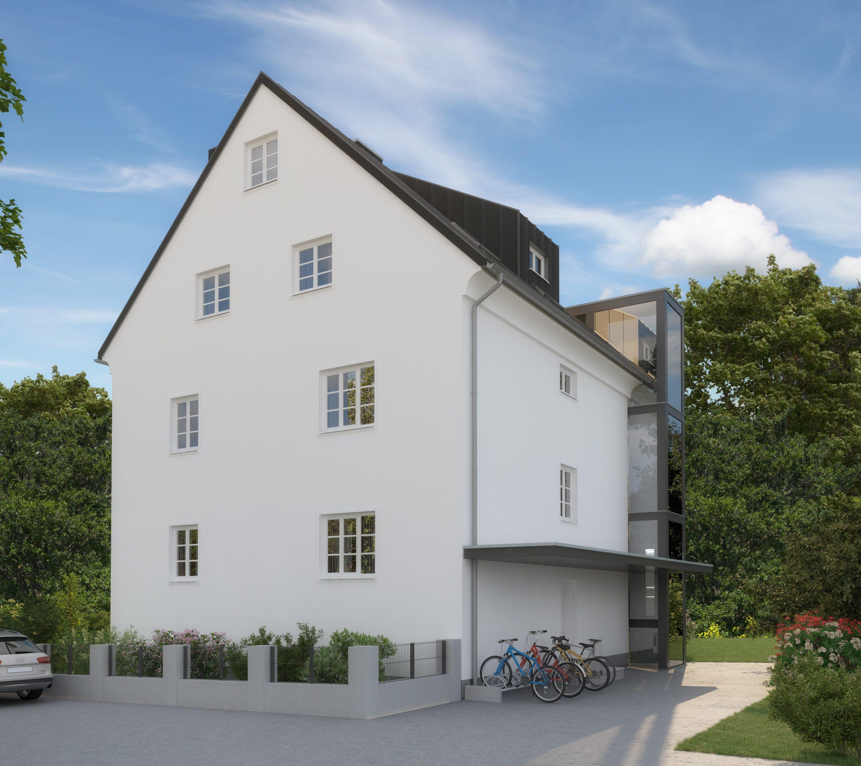 Verkauft: Bergheimerstraße -3 moderne Wohnungen im Flair der 1930er